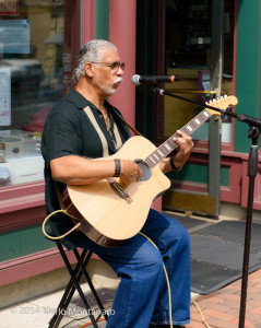 A staple of the Red Bank music scene for many years, Poppa John Bug brings his wonderful brand of music to the street